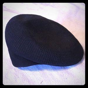 Black Kangol Flatcap